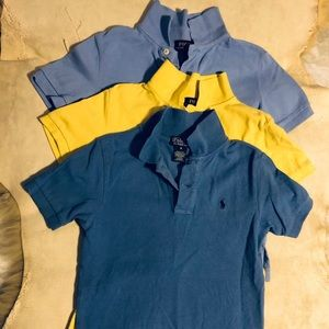 Polo by Ralph Lauren Collared Short Sleeve Shirts